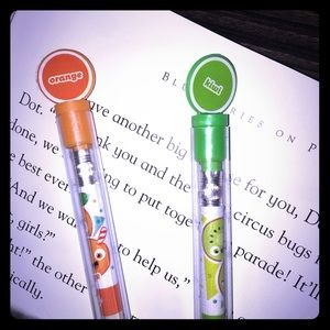 NWT Set Of 2 Scented pencils
